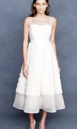 Best Tea Length Wedding Dresses Images On Pinterest Wedding