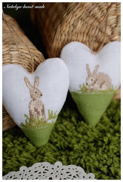 heartmade: bunny hearts