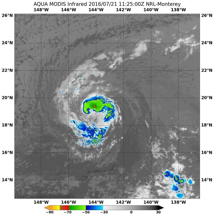 NASA sees Darby's strongest storms north of center - https://scienmag.com/nasa-sees-darbys-strongest-storms-north-of-center/