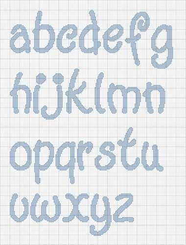 21 best images about punto croce alfabeto on pinterest for Lettere a punto a croce