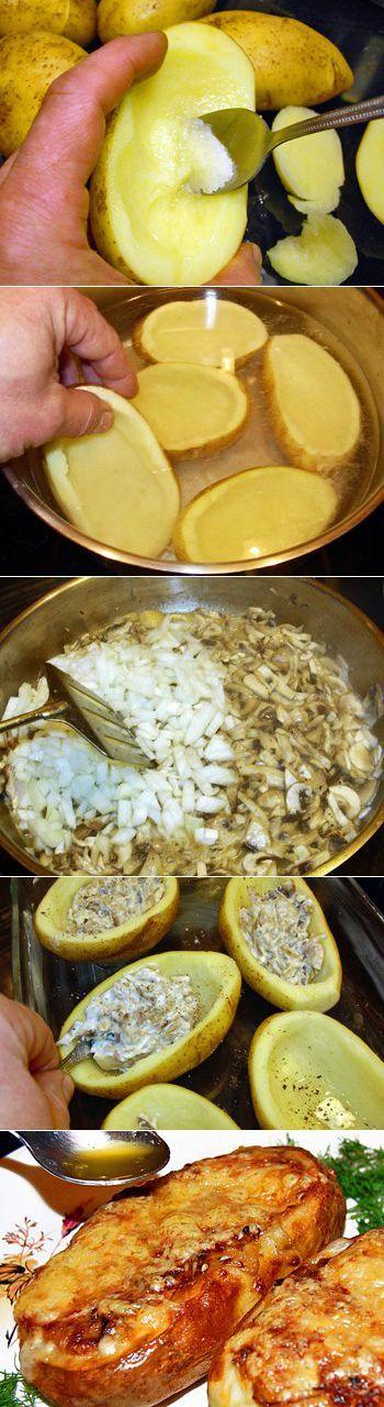 Жюльен в картофеле-кокотнице. Жюльен в наше время имеет бесконечное количество вариаций. Вместо грибов в него можно положить нарезанные соломкой мясо, птицу, субпродукты (почки, сердце, язык), ветчину, морепродукты (кальмары, креветки, морские гребешки, мидии) или рыбу. Обязательными компонентами являются только лук, соус и тертый сыр сверху. | как очистить кишечник | Постила