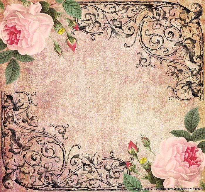 Mi baul del decoupage flores laminas para decorar - Laminas para decorar ...