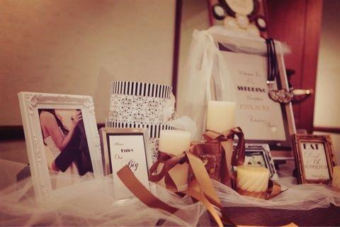 wedding report6 ウェルカムスペース の画像|saanaaeのブログ(sail wedding paper design)