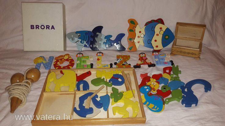 BS Játék - Fa játékcsomag gyerekeknek kirakókkal - 900 Ft - Nézd meg Te is Vaterán - Vegyes játékcsomag - http://www.vatera.hu/item/view/?cod=2598196697