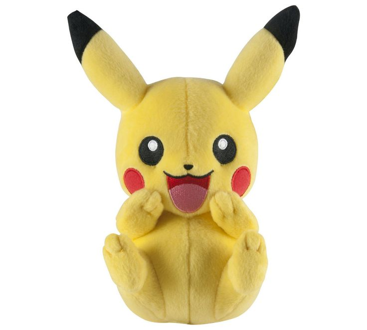 Buy Pokemon Cuddle Pose Pikachu 8 Inch Plush at Argos.co.uk, visit Argos.co.uk to shop online for Teddy bears and soft toys, Toys