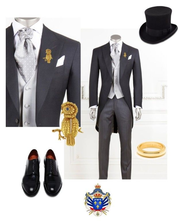 """Memorial Service in honor of the Montenegrinian soldiers killed defending their country."" by myroyalpointofview ❤ liked on Polyvore featuring JOHN BULL, Tiffany & Co., Alden and country"