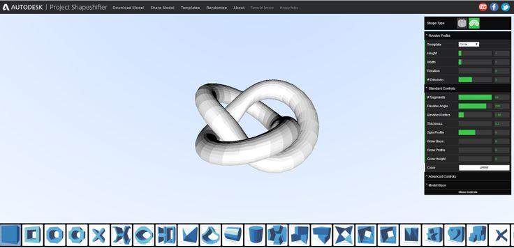 Create a 3D Object via browser...