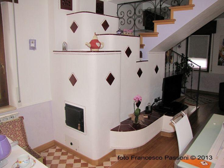 Stufa in muratura - grundofen - masonry stove