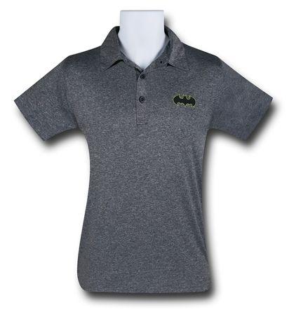 XL Batman Dark Grey Polo Shirt