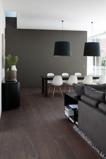 Déco Salon couleur du mur pour un salon