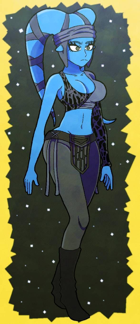 Aayla Secura by https://i0.wp.com/www.deviantart.com/thelunarnerd-da on @DeviantArt in 2020 (With images)   Aayla secura. Sketches. Art