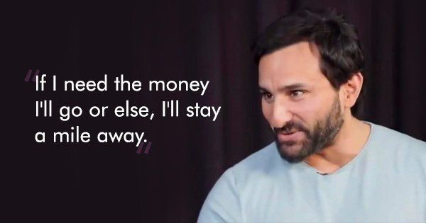 Saif Ali Khan Calls Bollywood Awards The 'Biggest Joke In The World' & We Couldn't Agree More - ScoopWhoop #FansnStars