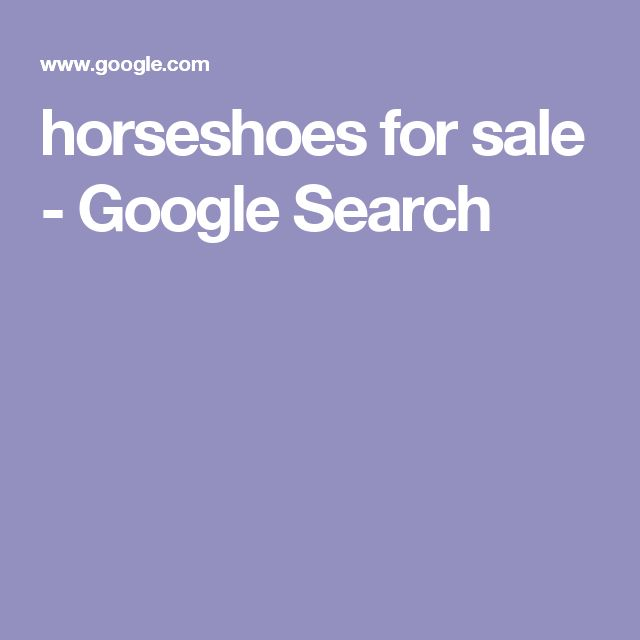 horseshoes for sale - Google Search