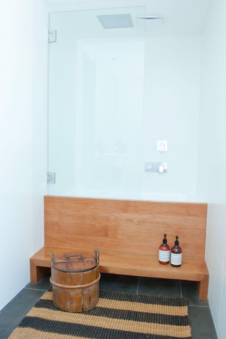 Bathroom with Japanese bath. Brooke Aitken Design