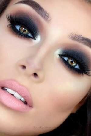 Kaş Modelleri ve Etkileyici Bakışlar İçin Göz Makyajı Örnekleri