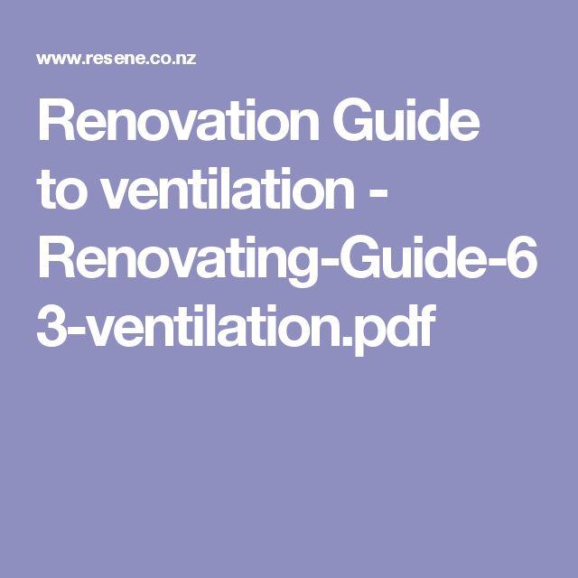 Renovation Guide to ventilation - Renovating-Guide-63-ventilation.pdf