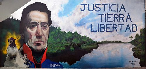 participacion en el 1er congreso de  los  pueblos libre   corrientes  argentina  j.g. Artigas