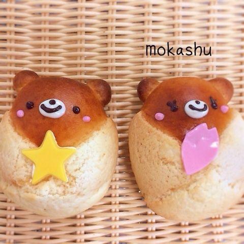 bear boy & bear girl buns♡