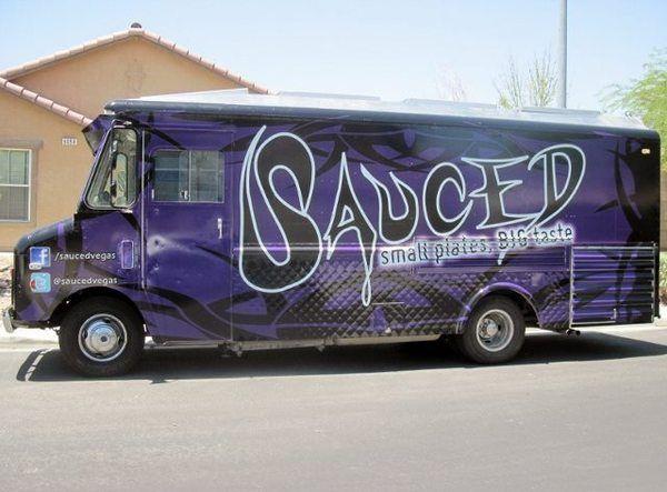 "Las Vegas Food Trucks. Review of ""Sauced"""