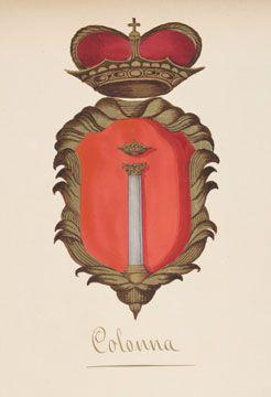 Stemma Gentilizio dei Principi Colonna