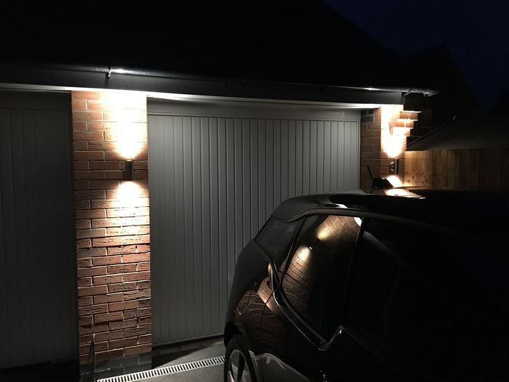 Two Saxby Palin up down lights I have fitted on a garage. These have Bell 6W Pro LED lamps ...