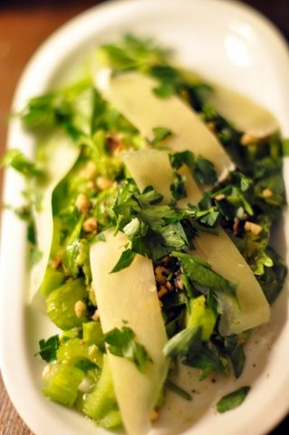 Celery & Parmesan Salad | Tasty Treats | Pinterest