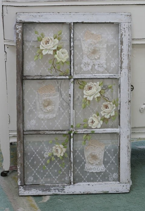 Repurposed window | DIY..and other great ideas | Pinterest