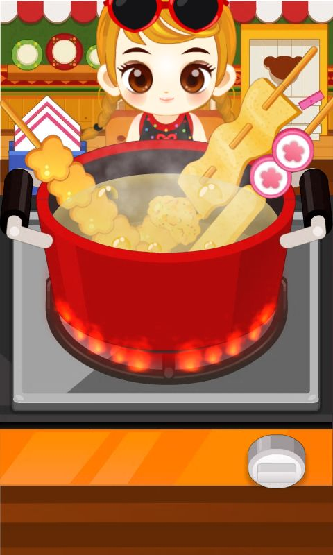 쥬디의 떡볶이 만들기 - 어린 여자 아이 요리 게임 - screenshot