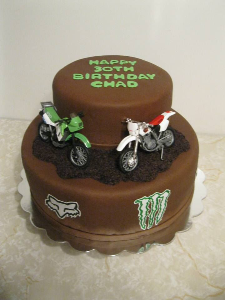 dirt bike cake - photo #28