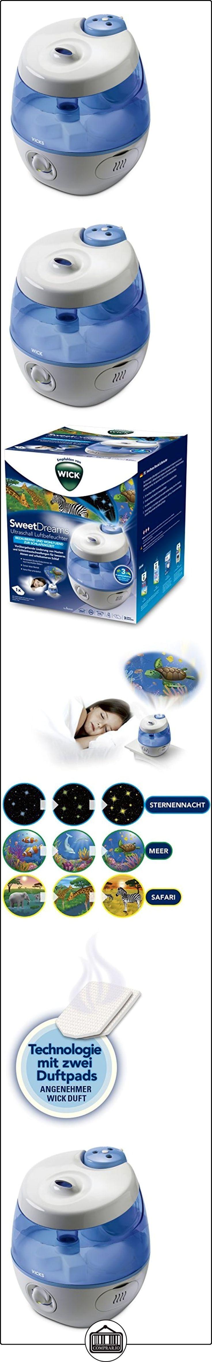 Wick wul575e sweetdreams 2en 1-Humidificador por ultrasonido con proyección de luz  ✿ Seguridad para tu bebé - (Protege a tus hijos) ✿ ▬► Ver oferta: http://comprar.io/goto/B017K3B8PK