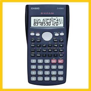 a calculadora cientifica casio fx 82ms original funcionando 100 sin caja
