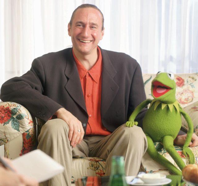 Brian Henson | Brian Henson, le papa des Muppets, et Kermit