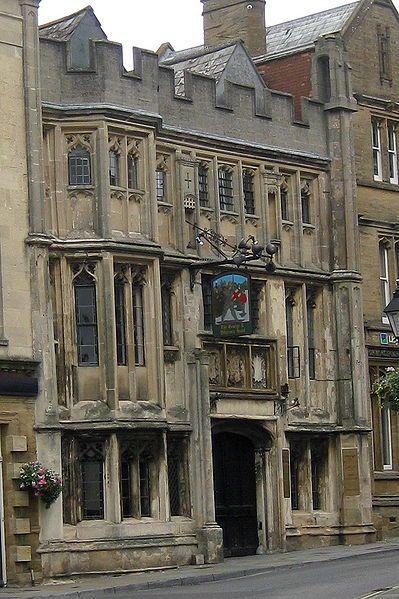 Glastonbury--The George and Pilgrim