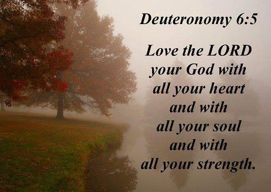 Image result for Deuteronomy 6:5
