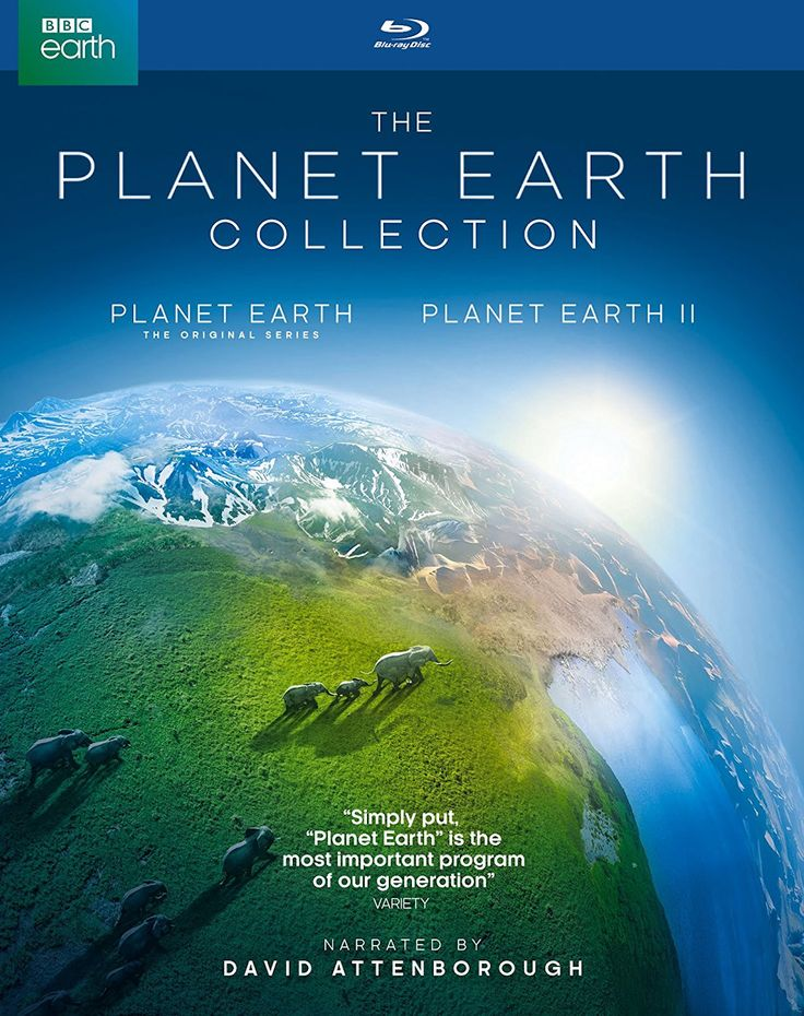 The Planet Earth 🌏 Collection Set (British Broadcasting Corporation)