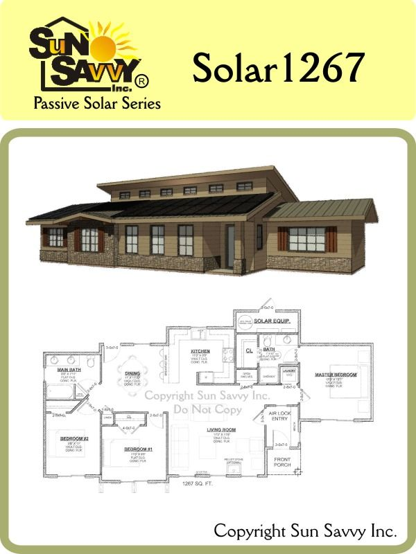 I think there are some better floorplans for us but i like for Solar passive home designs
