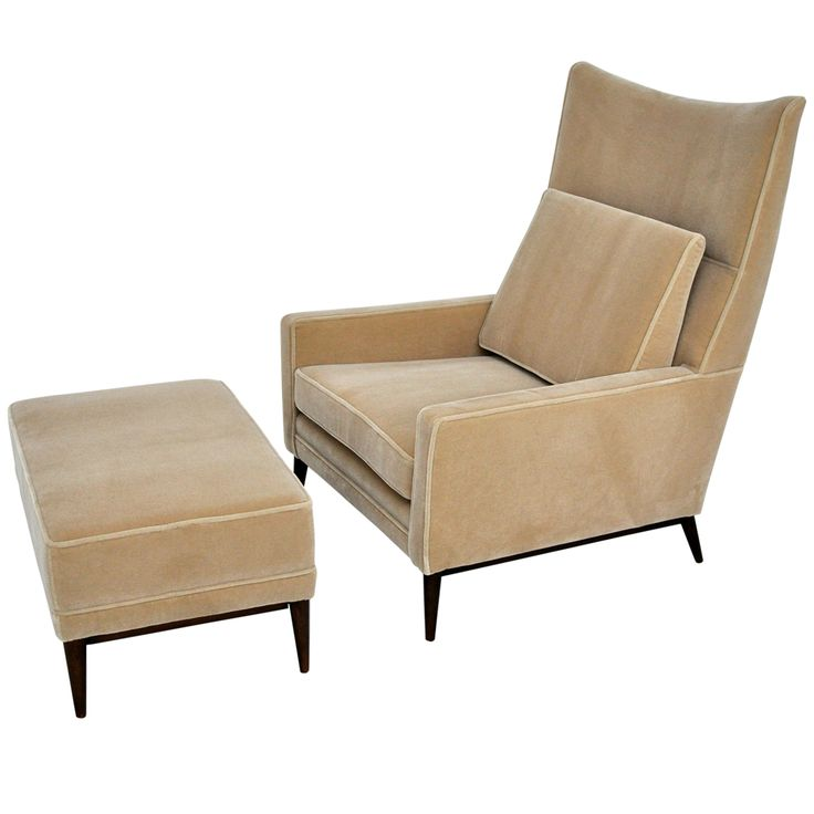 Paul McCobb Lounge Chair & Ottoman