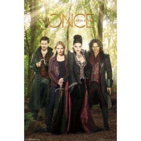 Once Upon A Time Ouat Evil Villains TV Show Poster 22x34, Multicolor