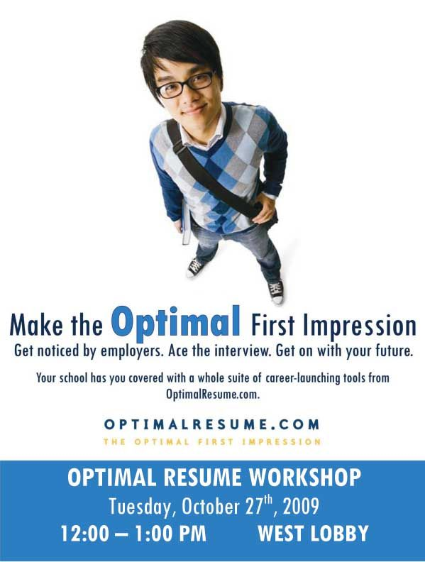 resume workshop posters - Google Search school inspirations - optimum resume