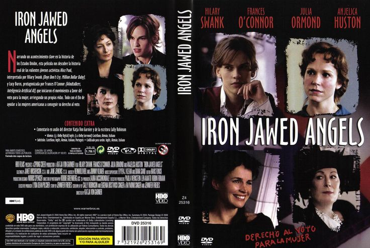 iron jawed angels review The movie: iron jawed angels sounds like a female sexploitation action flick, right well, it's not it's an incredible hbo film that looks at the final historical.