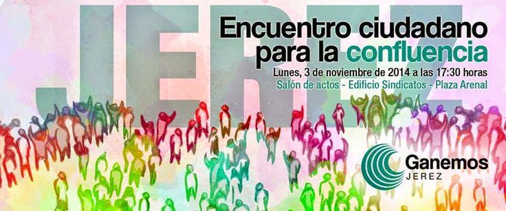 En las Jornadas Abiertas Ganemos Jerez del pasado 4 de Octubre se llegó a la conclusión de realizar un esfuerzo de acercamiento y confluencia de todas las iniciativas  políticas, sociales y ciudadanas que se manifestaban por construir un proyecto abierto, transparente y participativo para nuestra ciudad.  http://laoropendolasostenible.blogspot.com.es/2014/10/jerez-invitacion-participar-en-el.html