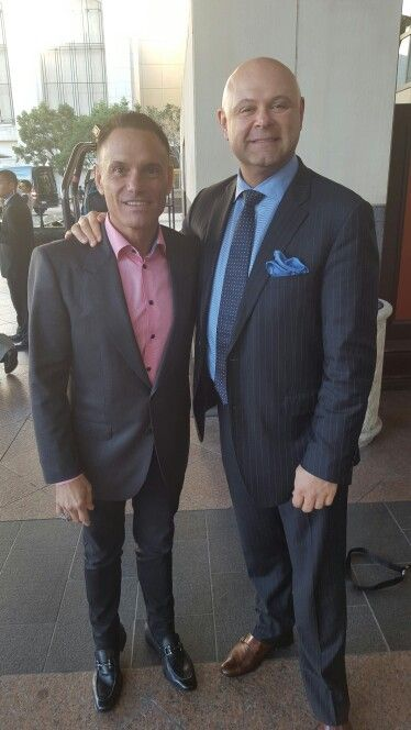 Hanging with the phenomenal #KevinHarrington at #TCS2016 in #SanDiego.  #SharkTank #ChangeYourResults