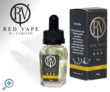 Havana Red Vape electronic cigarette e-liquid made with natural ingredients 100% AMAZING.Red Vape has been working tirelessly to source the best natural ingredients for there International Collection of RV Premium e-liquids. They use only the best premium pharmaceutical grade nicotine and all their blends result in a 50% VG and 50% PG combination.