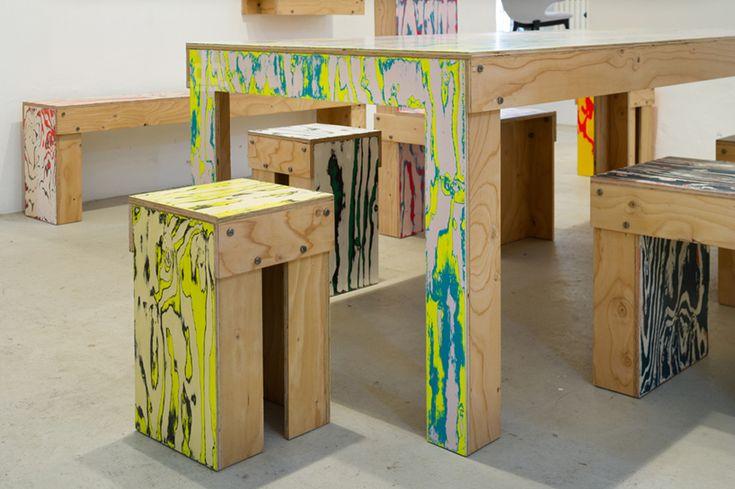 jo nagasaka: ColoRing furniture series