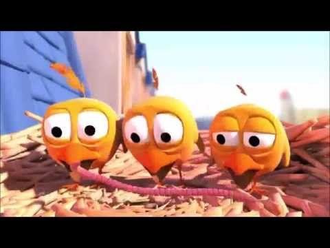 passarinhos engraçados - pixar - YouTube