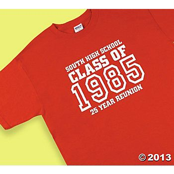 Good Personalized U201cClass Ofu201d Red T Shirts Group · Class Reunion IdeasRed ...