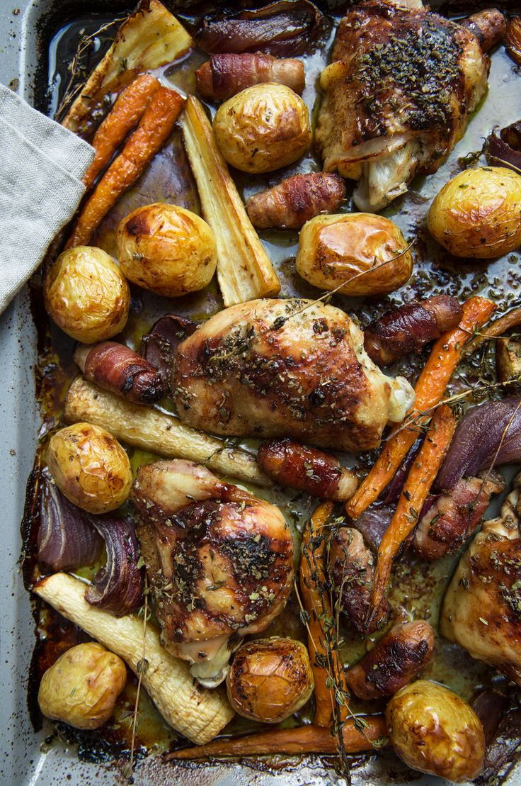 The Londoner » One Pan Sunday Roast
