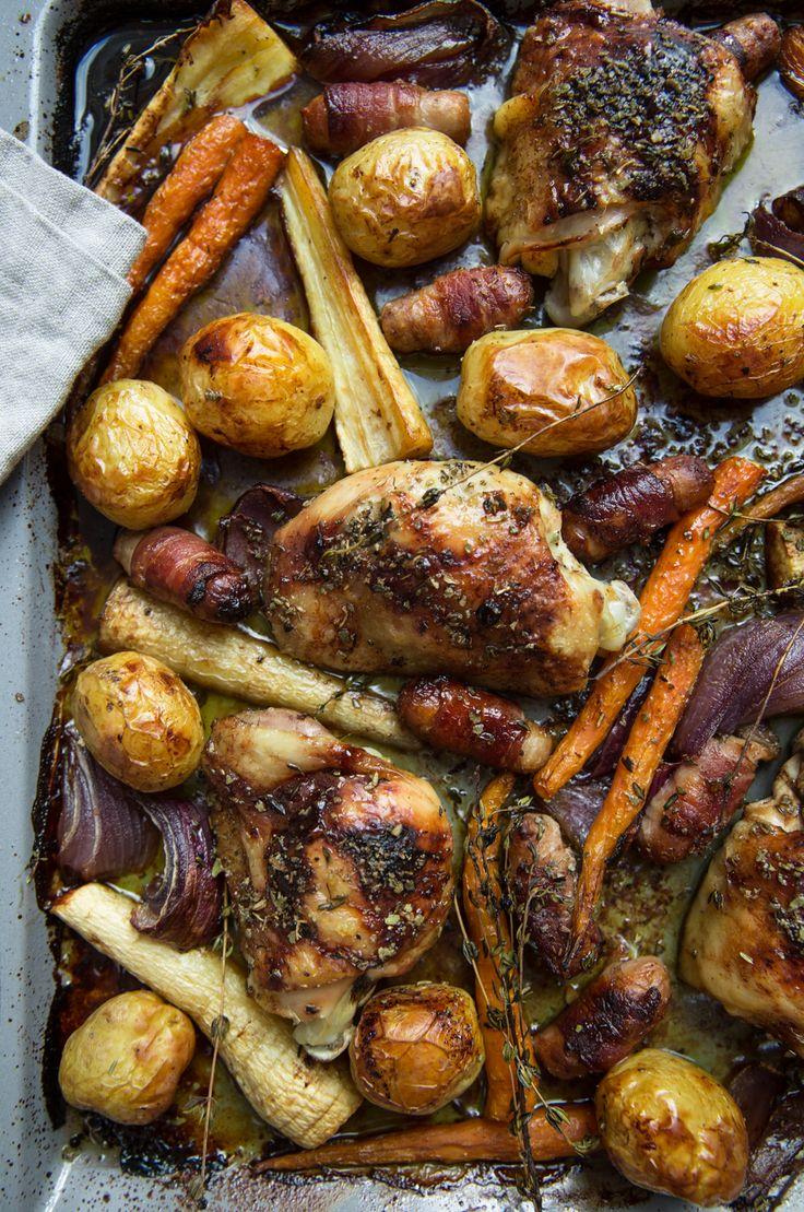 One Pan Sunday Roast
