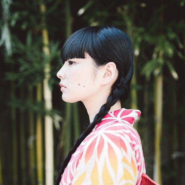 "Shot @akimoto_kozue for the catalog ""Isetan Yukata Selection 2015""  #eos5dmarkiii #sigma50mm #sigma"