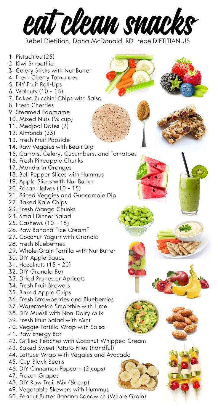 Eat Clean Snacks [Vegan] | rebelDIETITIAN.US